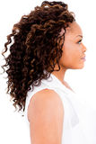 Black woman with an afro Stock Images