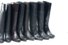 Black woman boot Stock Image