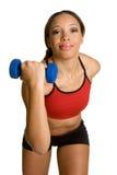 Black Woman Exercising Stock Image