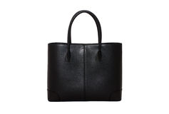 Black woman handbag royalty free stock photos
