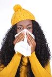 Black woman with handkerchief Stock Photos