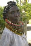 Black woman at the Pepo La Tumaini Jangwani, HIV/AIDS Community Rehabilitation Program, Orphanage & Clinic.  Pepo La Tumaini Jangw Royalty Free Stock Photos