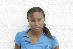 Black woman portrait Stock Photo