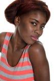 Black woman portrait Royalty Free Stock Image