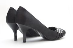 Black Woman Shoes Royalty Free Stock Photo