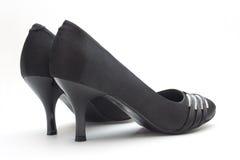 Black Woman Shoes Royalty Free Stock Photo