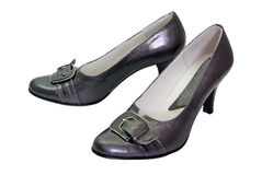 Black woman shoes Royalty Free Stock Photos