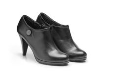 Black Woman Shoes Stock Images