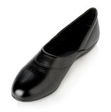Black woman shoes  on white background Royalty Free Stock Image