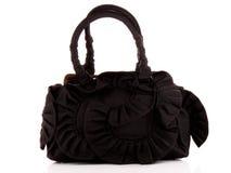 Black women bag isolated Royalty Free Stock Photo