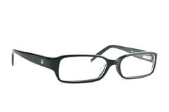 Black women eyeglasses Stock Photo