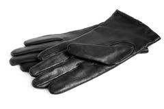 Black women gloves Royalty Free Stock Photos