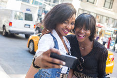 Black Women in New York Royalty Free Stock Photography