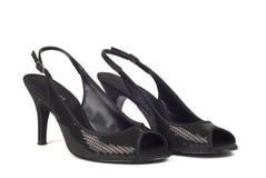 Black Women's High-Heel Shoes 2 Stock Photos