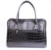 Black women's purse Stock Images