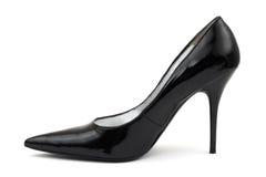 Black women shoe Royalty Free Stock Image