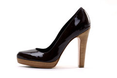 Black women shoe Stock Photography