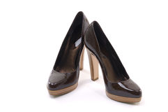 Black women shoe Royalty Free Stock Photography