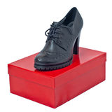 Black women shoes Royalty Free Stock Image