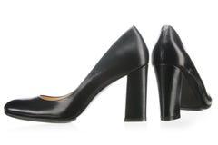 Black women shoes Royalty Free Stock Image