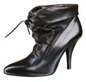 Black womenstyle boot Stock Photo