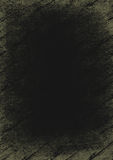 Black wood background. Grungy black woody background with age, scratch and spot marks royalty free illustration