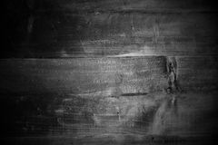 Black wood background abstract with vignette style Royalty Free Stock Photos