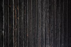 Black wood background or texture Stock Photos