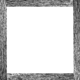 Black wood frame royalty free stock photo