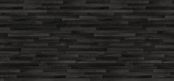 Black wood parquet texture. background old panels Royalty Free Stock Photo