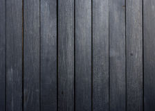 Black wood plank background Stock Photo