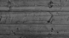 Black wood as a background texture Royalty Free Stock Photography