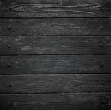 Black wood texture. background old panels Royalty Free Stock Image