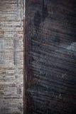 Black wood texture background Stock Image