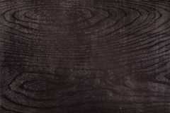 Black wood texture of black wood Royalty Free Stock Photos