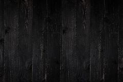Black wood texture for design and background. stock photo