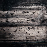 Black wood texture squared format close up Royalty Free Stock Image