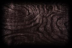 Black wood texture top view Royalty Free Stock Photography