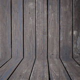 Black wood wall background Stock Images