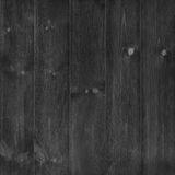 Black Wood wall background or texture; Old plank wood wall natur Stock Images