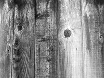 Black wooden textured  board background. Black wooden background old fence paling Royalty Free Stock Images