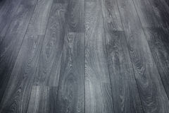 Black Wooden Floor Stock Photos