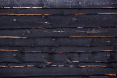 Black wooden texture Royalty Free Stock Photo