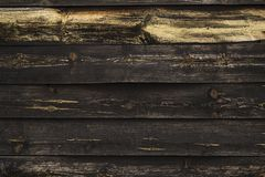 Black wooden wall royalty free stock images