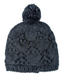 Black Wool Hat Stock Image