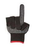 Black work glove. Stock Images