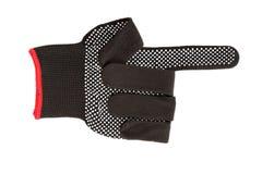 Black work glove. Stock Photos
