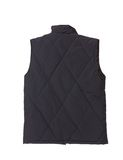 Black working winter vest. Royalty Free Stock Image