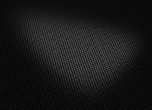 Black woven carbon fibre Stock Photo