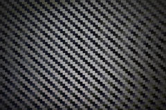 Black woven carbon fibre texture pattern background.  Stock Image